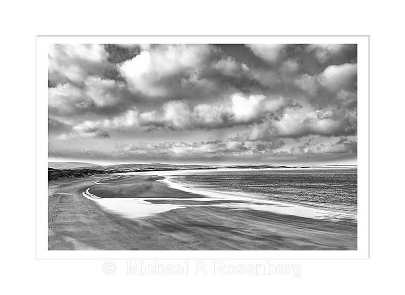 Shimmer beach, Outer Hebrides Scotland - Scotland, UK
