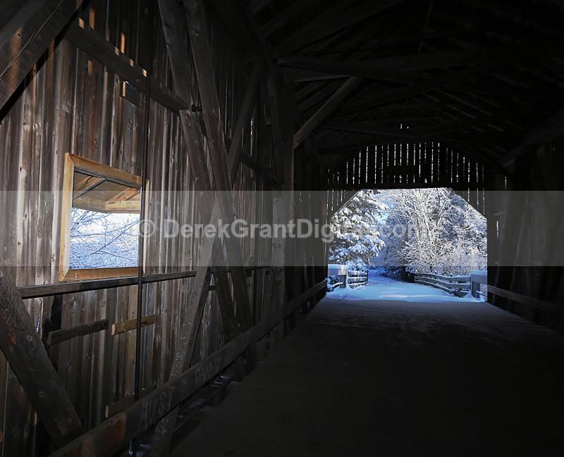 Moosehorn Macro - Covered Bridges of New Brunswick Canada - Covered Bridges of New Brunswick
