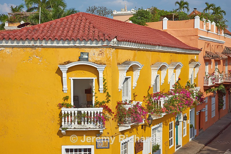 Colourful Buildings of Cartagena - Colombia