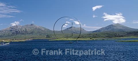 Loch Druidibeg, South Uist, Outer Hebrides - Island of South Uist in the Outer Hebrides