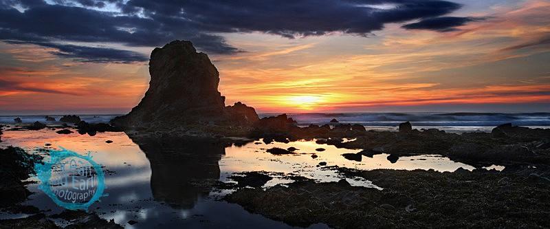 Blackrock Reflection - Panorama