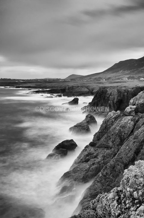 Lenan - Inishowen peninsula- B&W