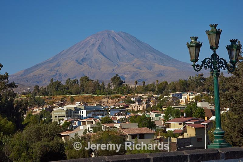 Volcano Misti - Peru