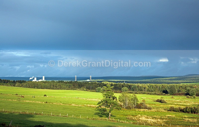 Golden Light -  New Brunswick Canada Landscape - New Brunswick Landscape