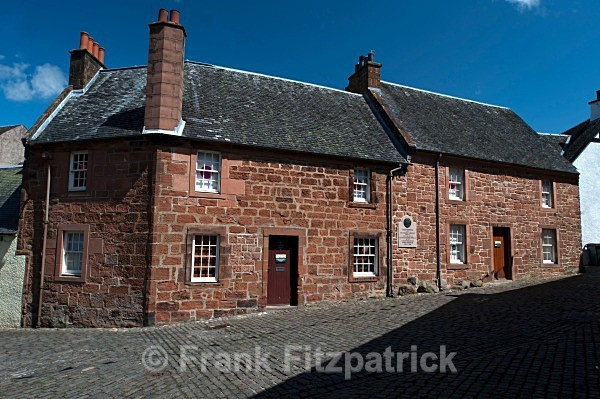 Robert Burns House Museum, Mauchline, Ayrshire. - Robert Burns