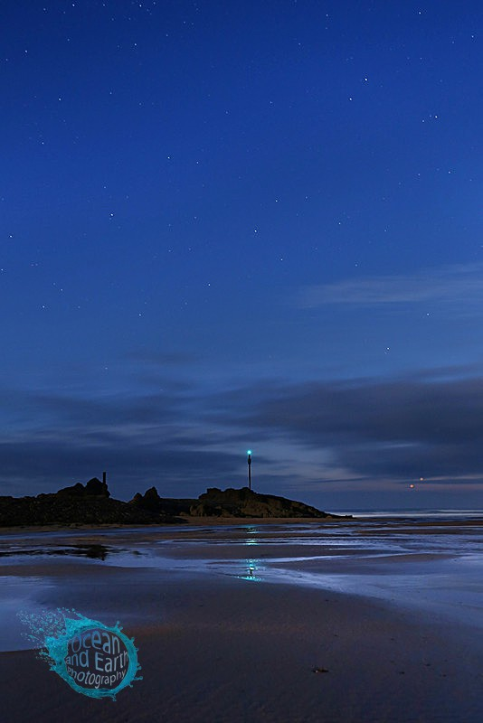 Planetary Conjunction 01-07-2015 - Seascapes