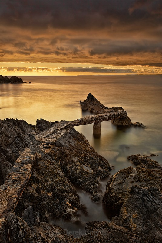 Peaceful Sunrise At Stroove Beach