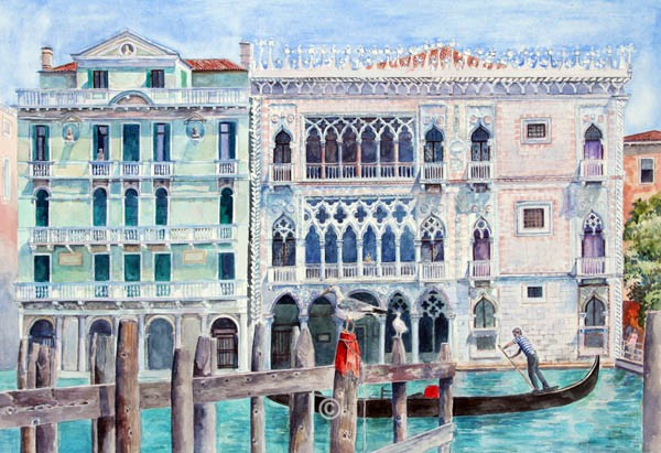 Ca' D' Oro, Venice. - Jane Pettigrew D.A.