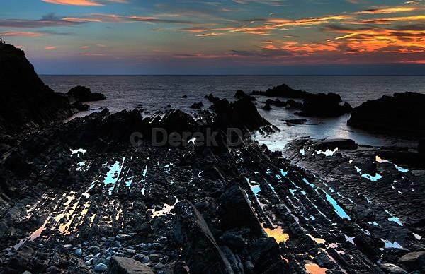 Hartland Quay Sunset - Devon