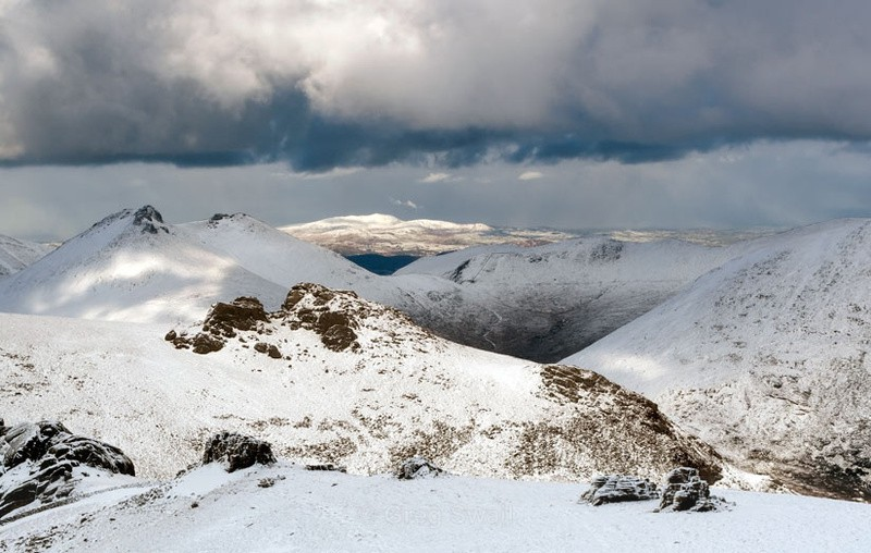 Light and Shade - The Mourne Mountains (Winter)