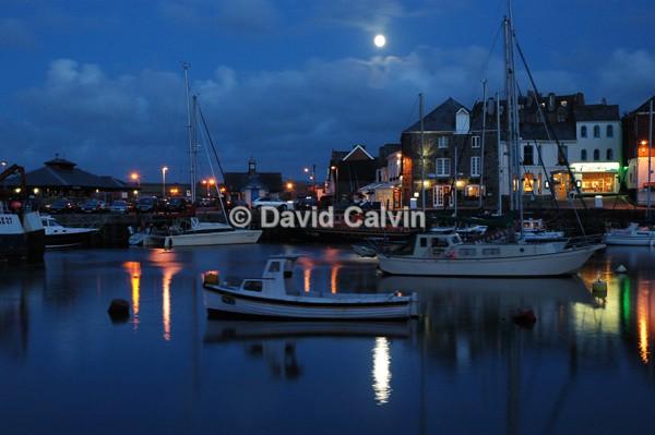 Padstow Moonlight - Coast