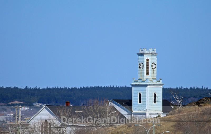 St. George's Anglican Church Westside Saint John NB - Churches of New Brunswick