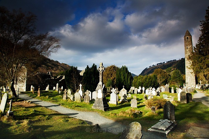 Monastic Glory - Landscapes of Ireland - Glendalough and the Wicklow Mountains