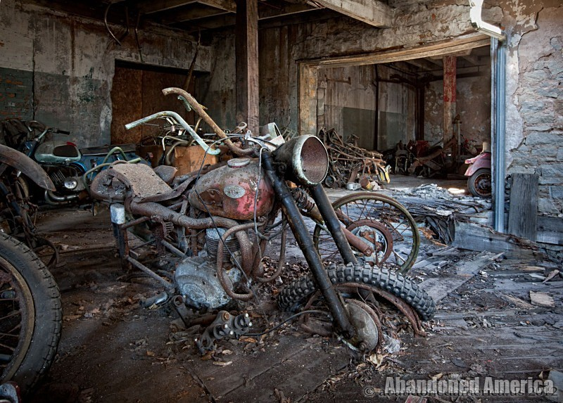 Kohl's Motorcycle Salvage (Lockport NY) | Abandoned America