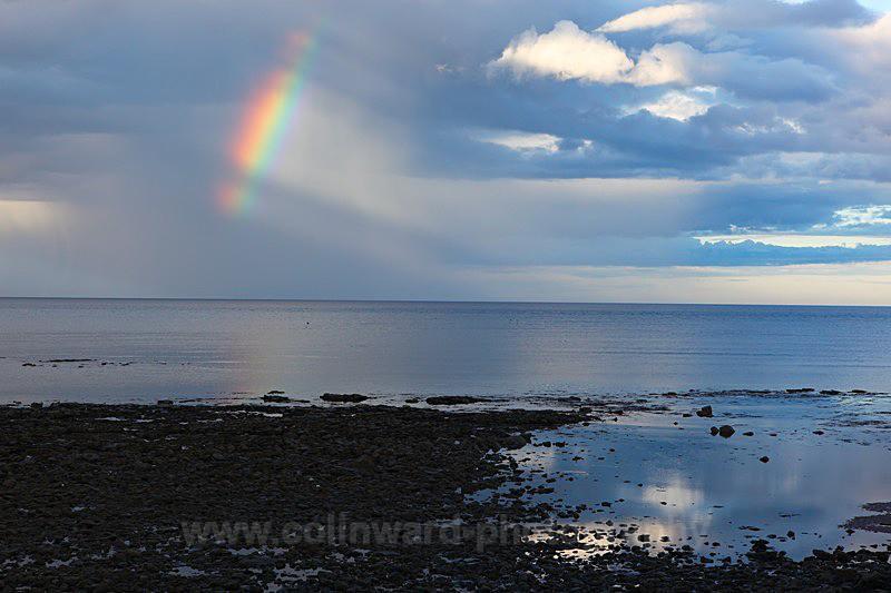 Partial Rainbow, Cresswell, Northumberland   ref  0023 - Northumberland