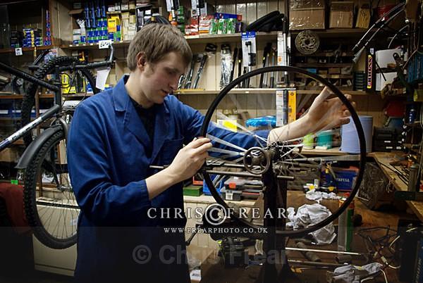 Kirkpatrick Cycles III - Small Shops