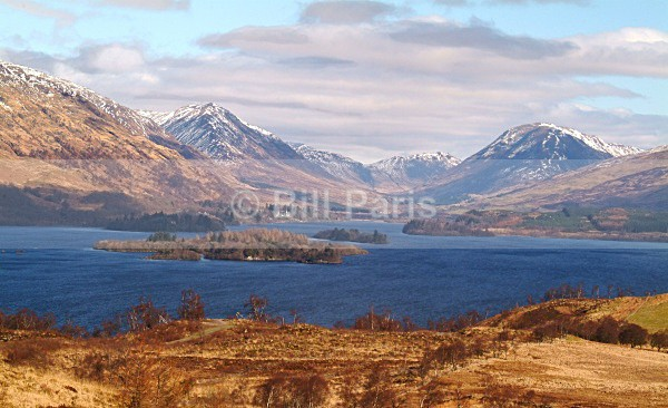 Loch Awe Scotland - Land and Sea