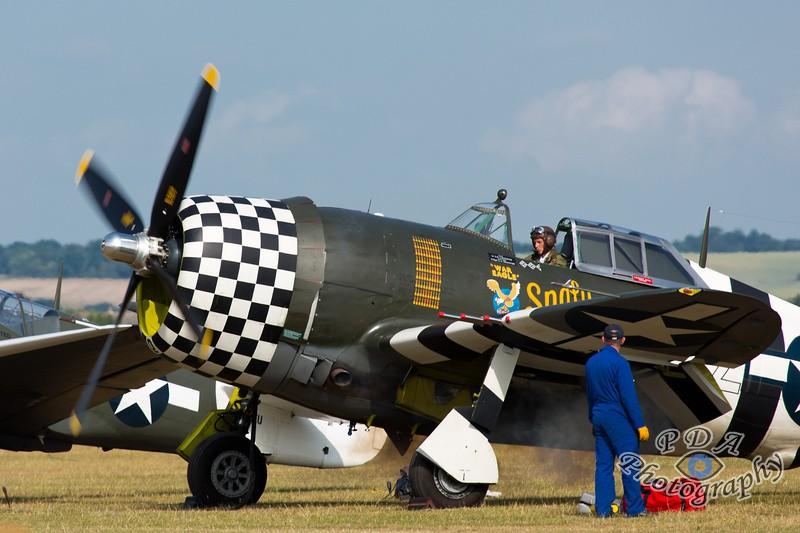 5 P-47G Thunderbolt