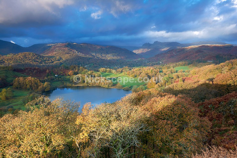 Loughrigg Tarn | Sunrise from the Lakeland Fells