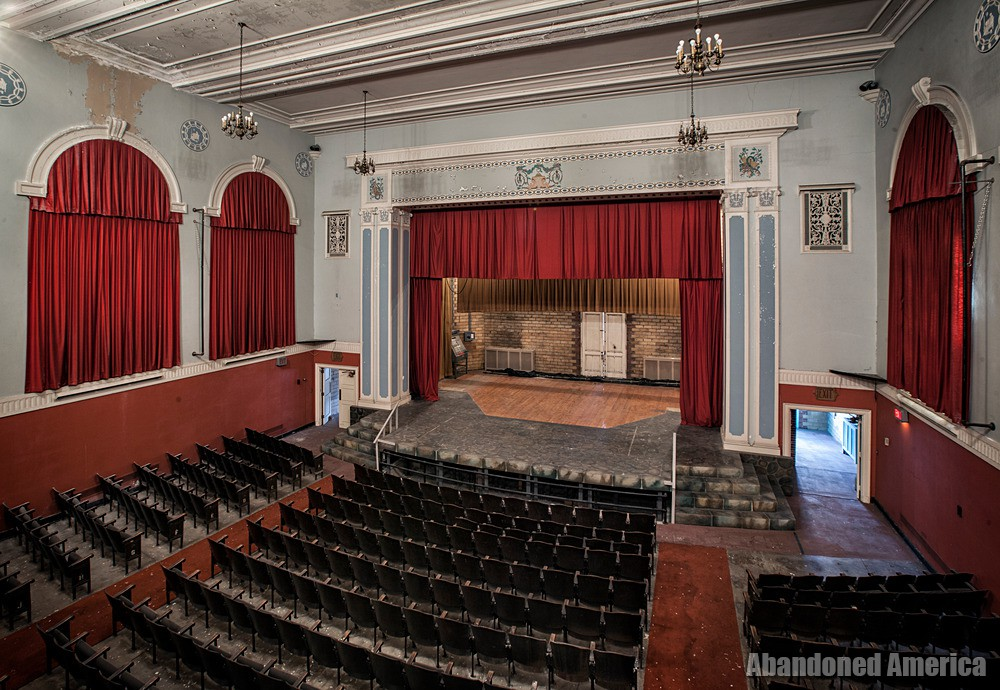 Central Junior High School (Chambersburg, PA) | Auditorium Stage - Central Junior High School