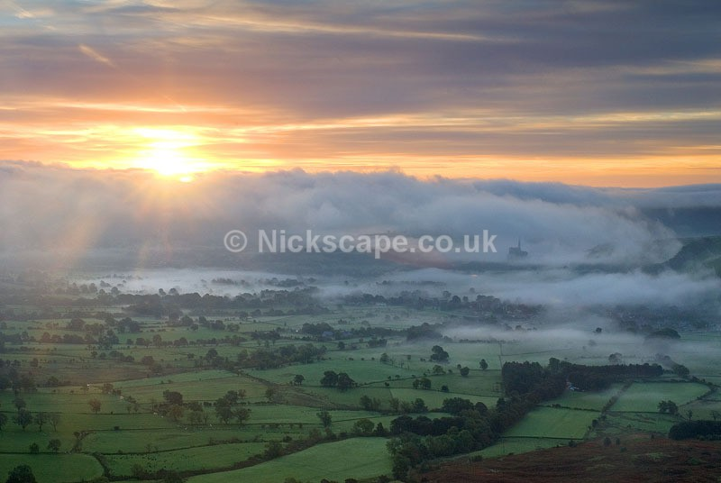 Hope Valley from Mam Tor - Derbyshire133 - Peak District Landscape Photography Gallery