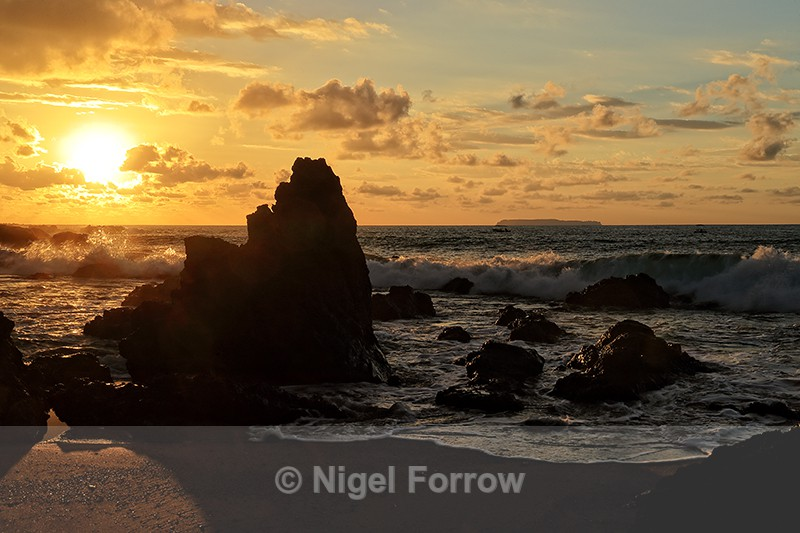 Sunset at Copa de Arbol, Osa Peninsula, Costa Rica - Costa Rica