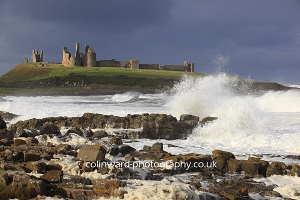 South side of  Dunstanburgh Castle Ref 6305 - Northumberland