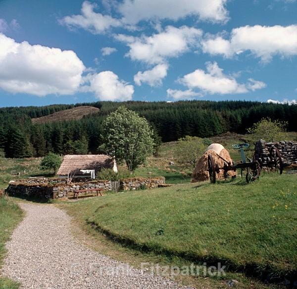 Auchindrain crofting museum - Highland