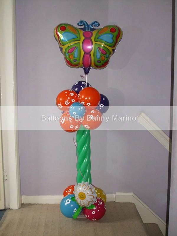 Summer Butterfly - Birthday Balloons