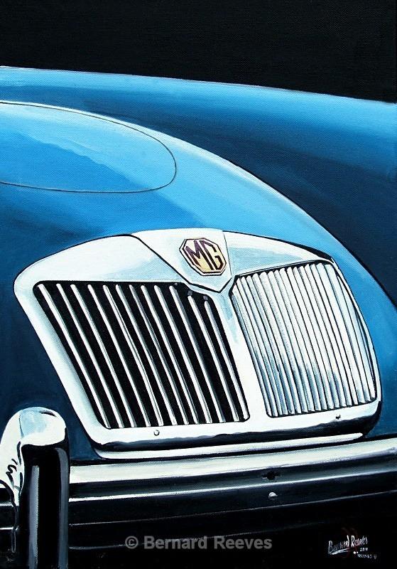 MG badge - Classic Car Badges