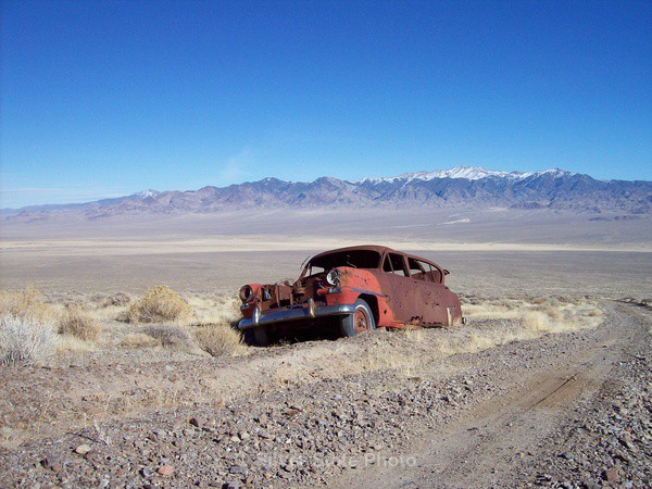 'The End of the Road' - Nevada (mostly) Landscapes