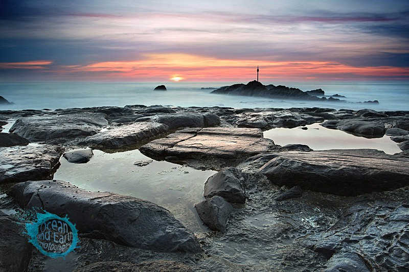 Rock and Pool - Seascapes