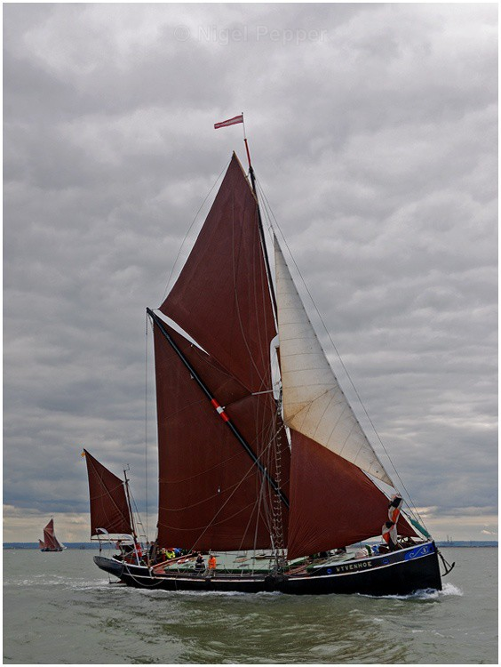 SB 'Wyvenhoe' (2) - The Thames Barge Match