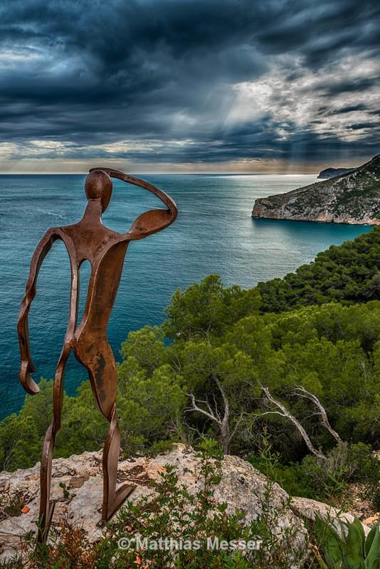 Ironman at Cap de la Nau - Landscapes