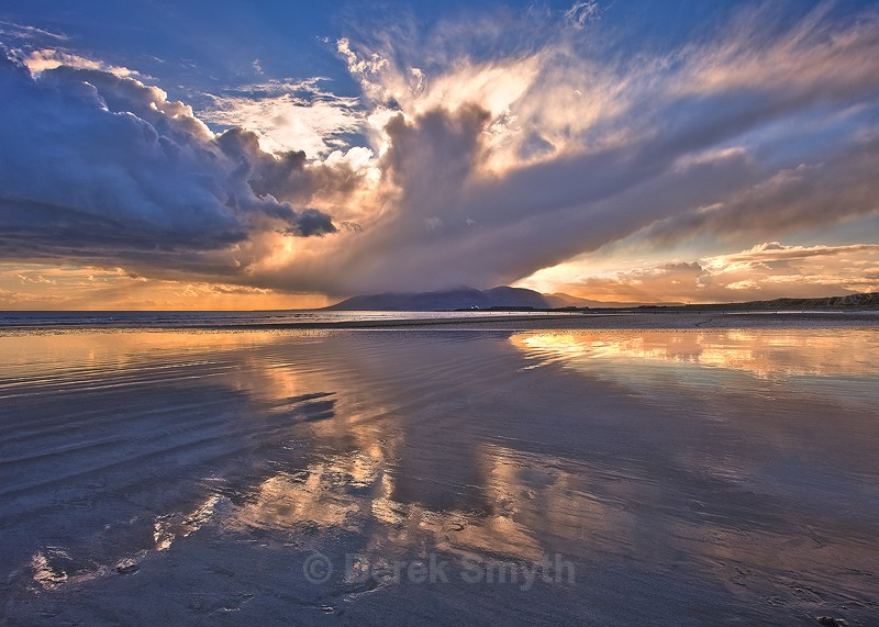 Approaching Shower - Tyrella Beach
