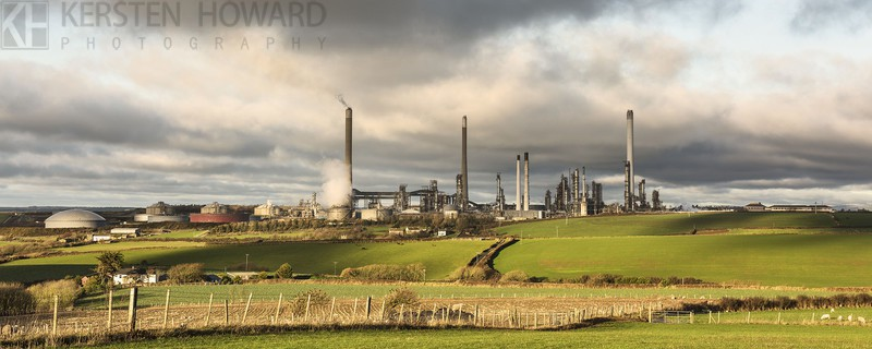 Refined Light - Pembroke Refinery - Images from book