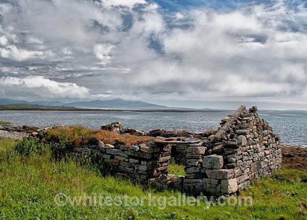 Ruins, Uist - Scottish Highlands