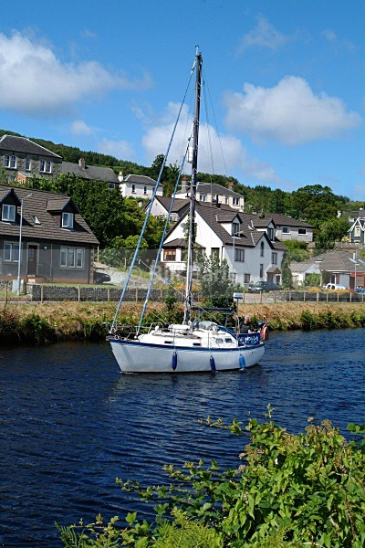The Crinan Canal Ardrishaig. - Land and Sea