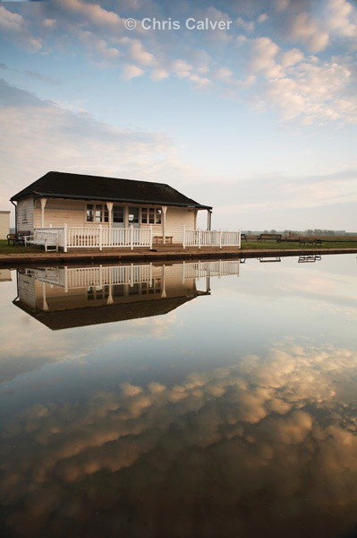 Boathouse Reflections - Suffolk Coastal Scenes