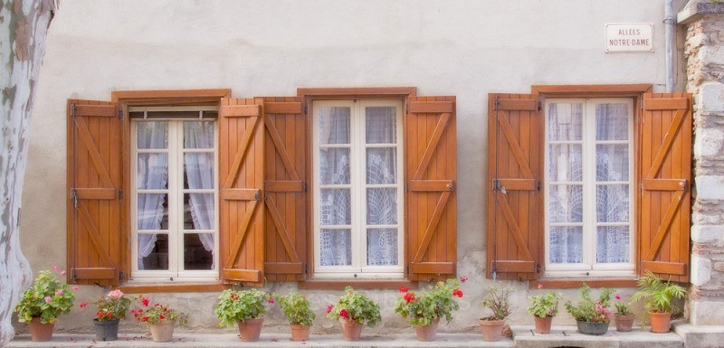 Three windows - Soreze - Toulouse