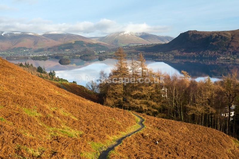 Derwent Water Winter View | Nickscape