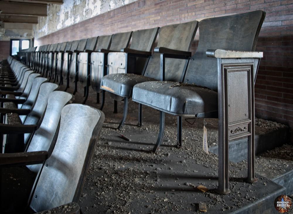 The Scranton Lace Company | Theater Seats - Scranton Lace Company