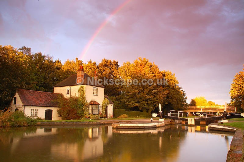 Lock Cottage | Lower Hatton Locks | Warwickshire Canal and Waterway Photography
