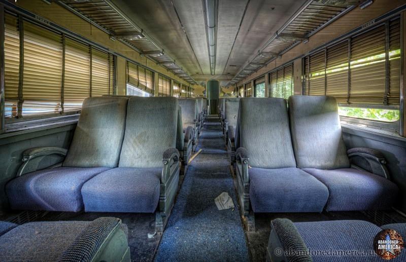 Abandoned train - Matthew Christopher's Abandoned America