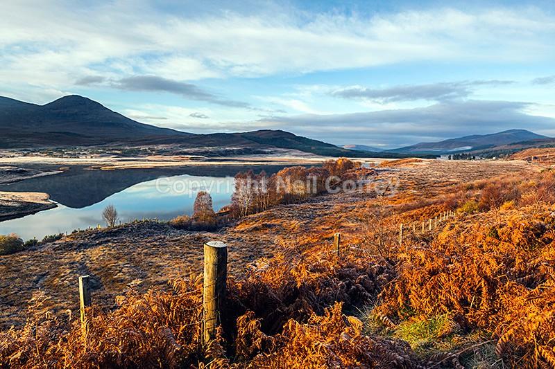 Loch Achanalt, Strathconon Forest, Highland2 - Landscape format