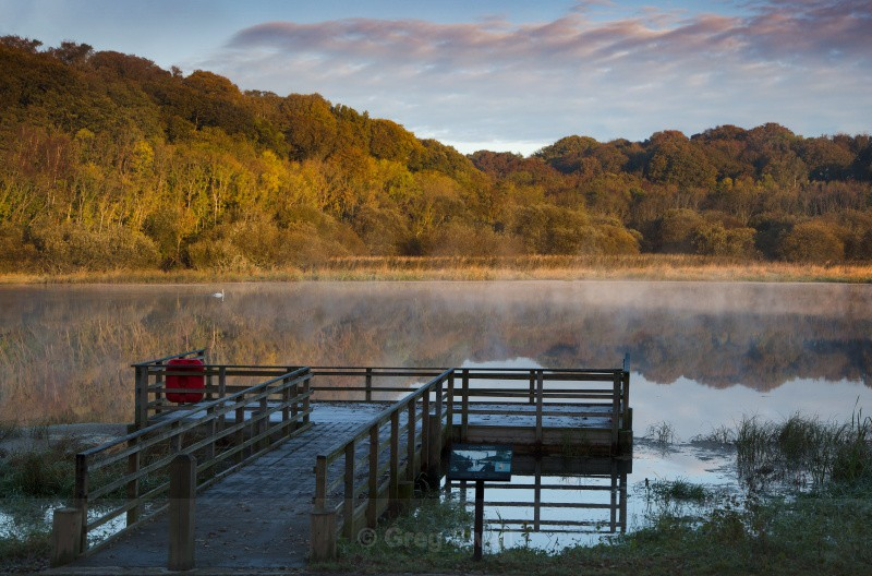 Morning Calm - The Quoile River and Inch Abbey