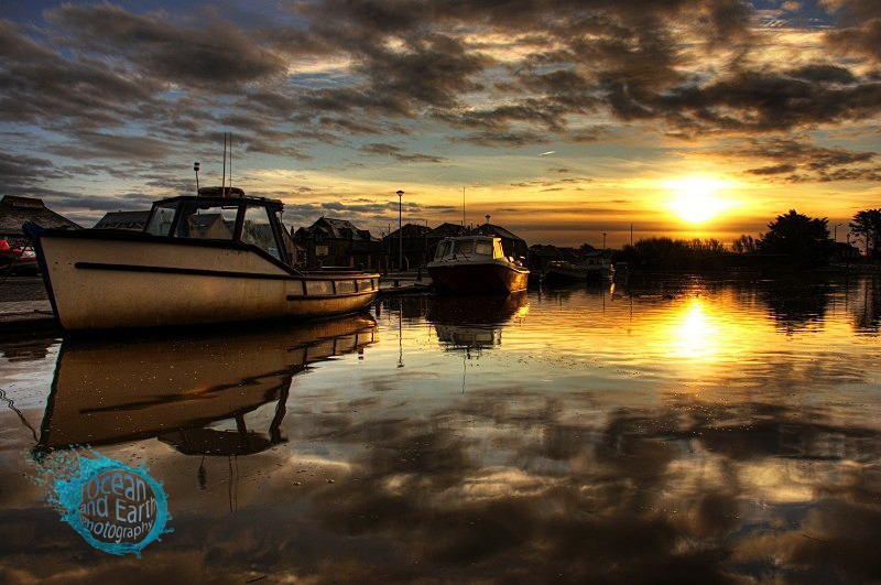 Mirrored Sunrise - Landscapes