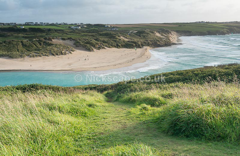 Gannel Estuary and Crantock Beach - Newquay - Cornwall - Cornwall