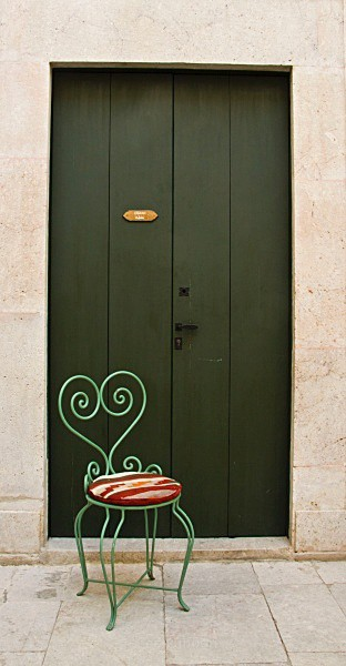 Dar el Medina - Green door - Tunis, Carthage and Sidu Bou Said