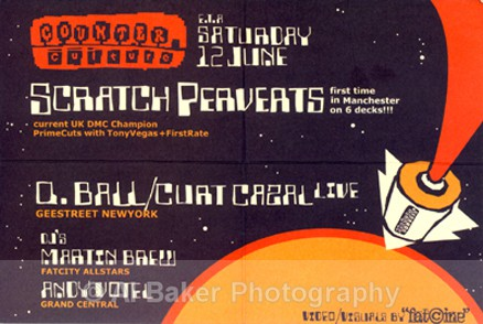 00: flyer - Counter Culture @ planet k manchester 12.06.99